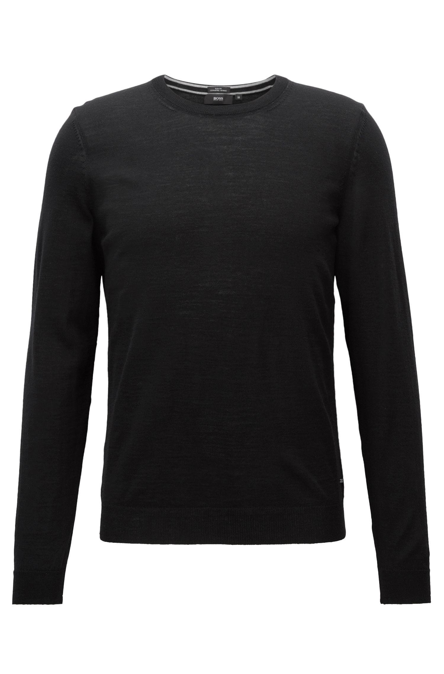 Extra-Fine Merino Wool Sweater   Leno N
