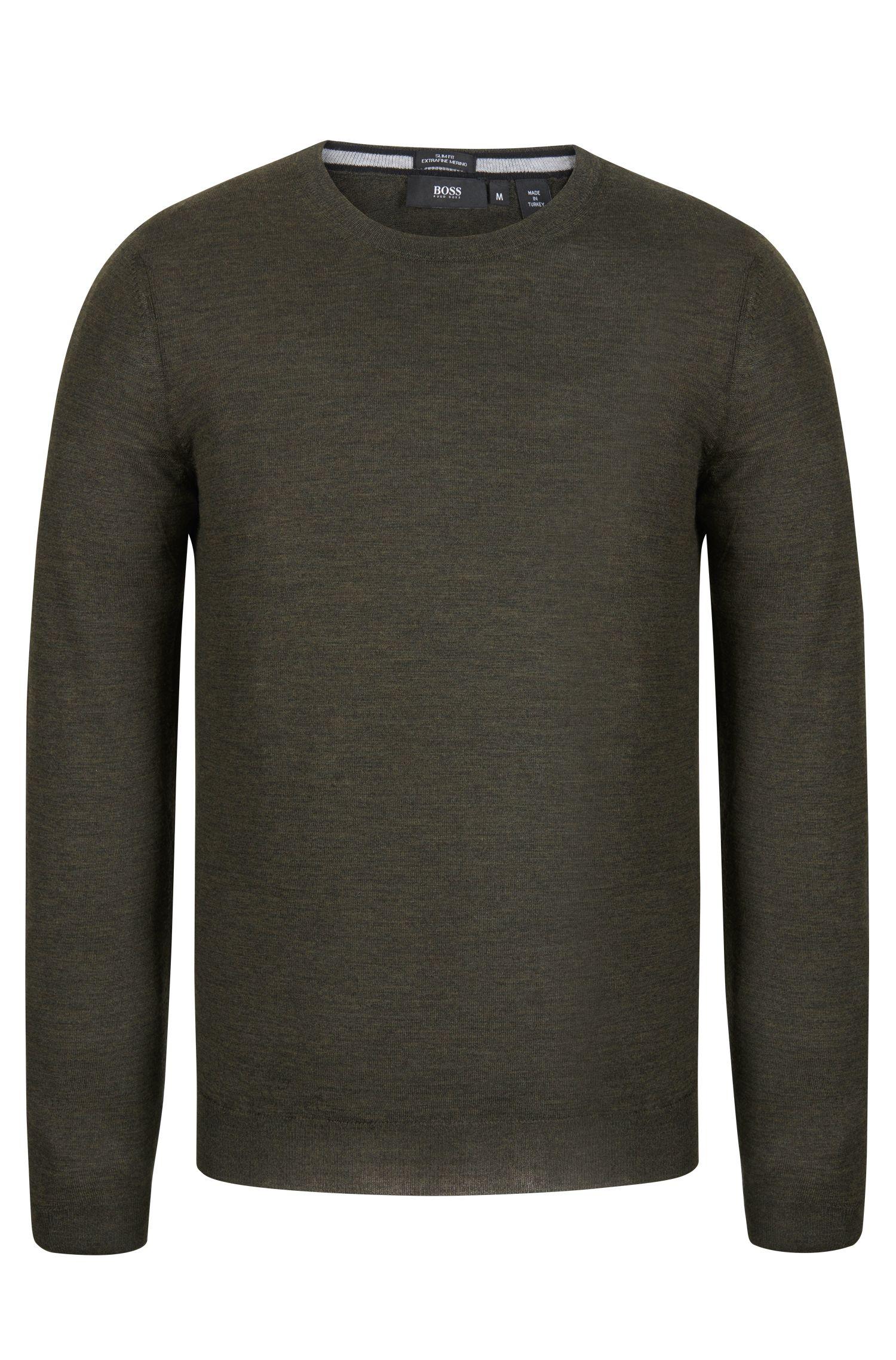 Extra-Fine Merino Wool Sweater | Leno N