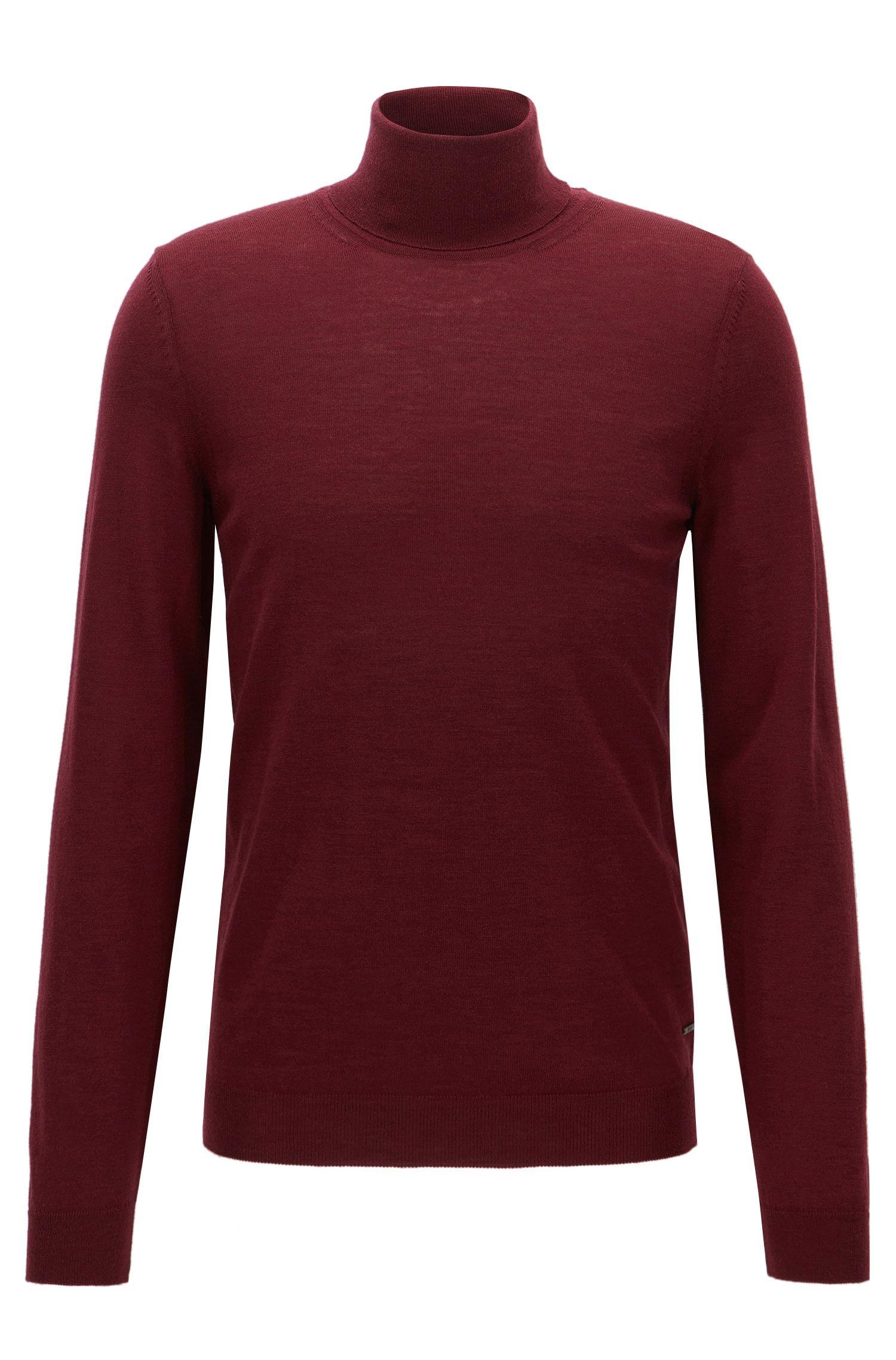 Merino Wool Turtleneck Sweater   Musso N