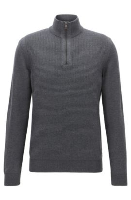 'Nacello' | Virgin Wool Sweater, Grey
