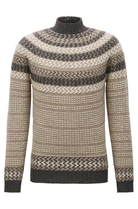 234ddde6 BOSS - Virgin Wool-Alpaca Turtleneck Sweater | Nateus