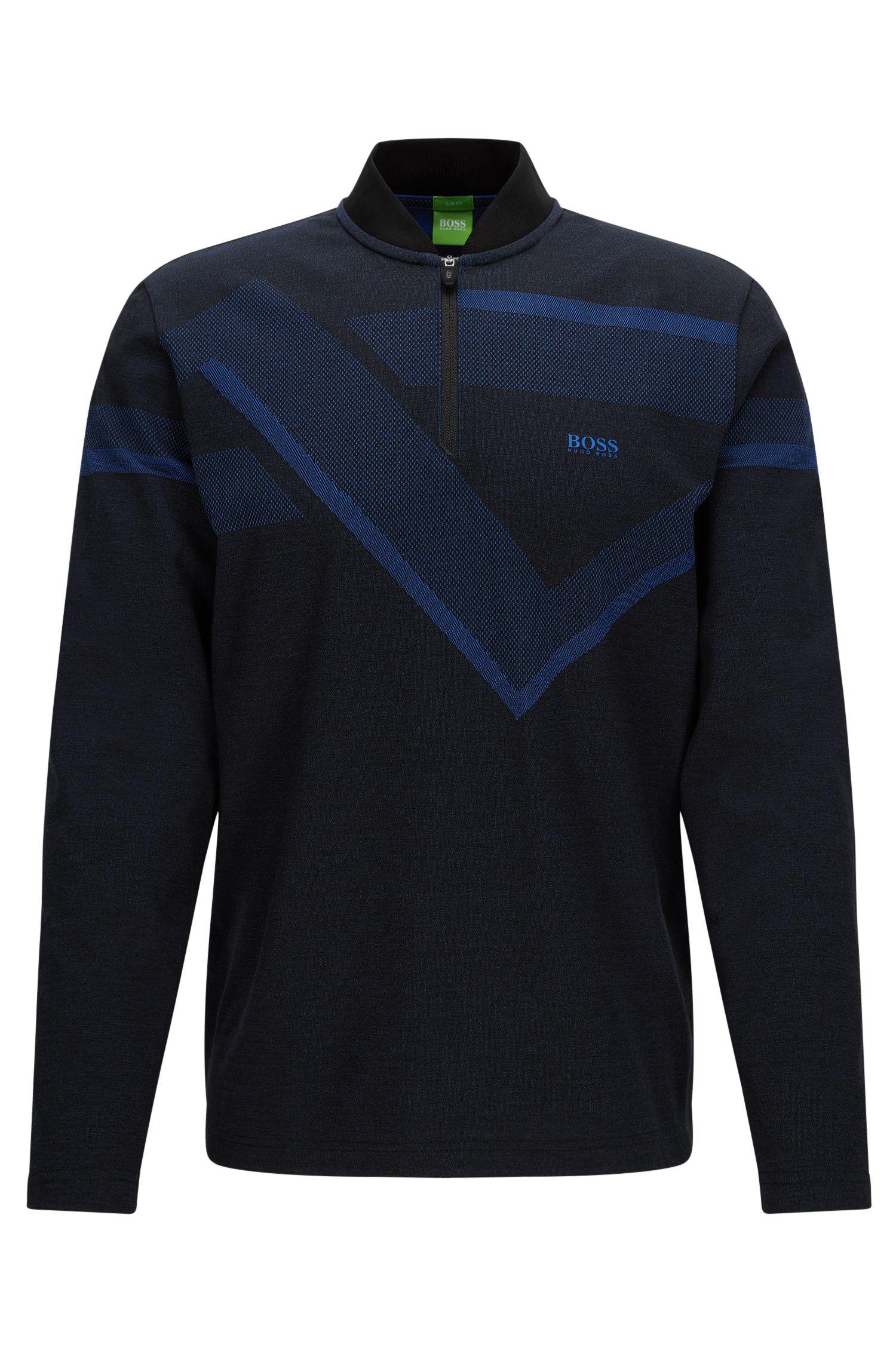 'Piraq' | Slim Fit, Stretch Polo Shirt
