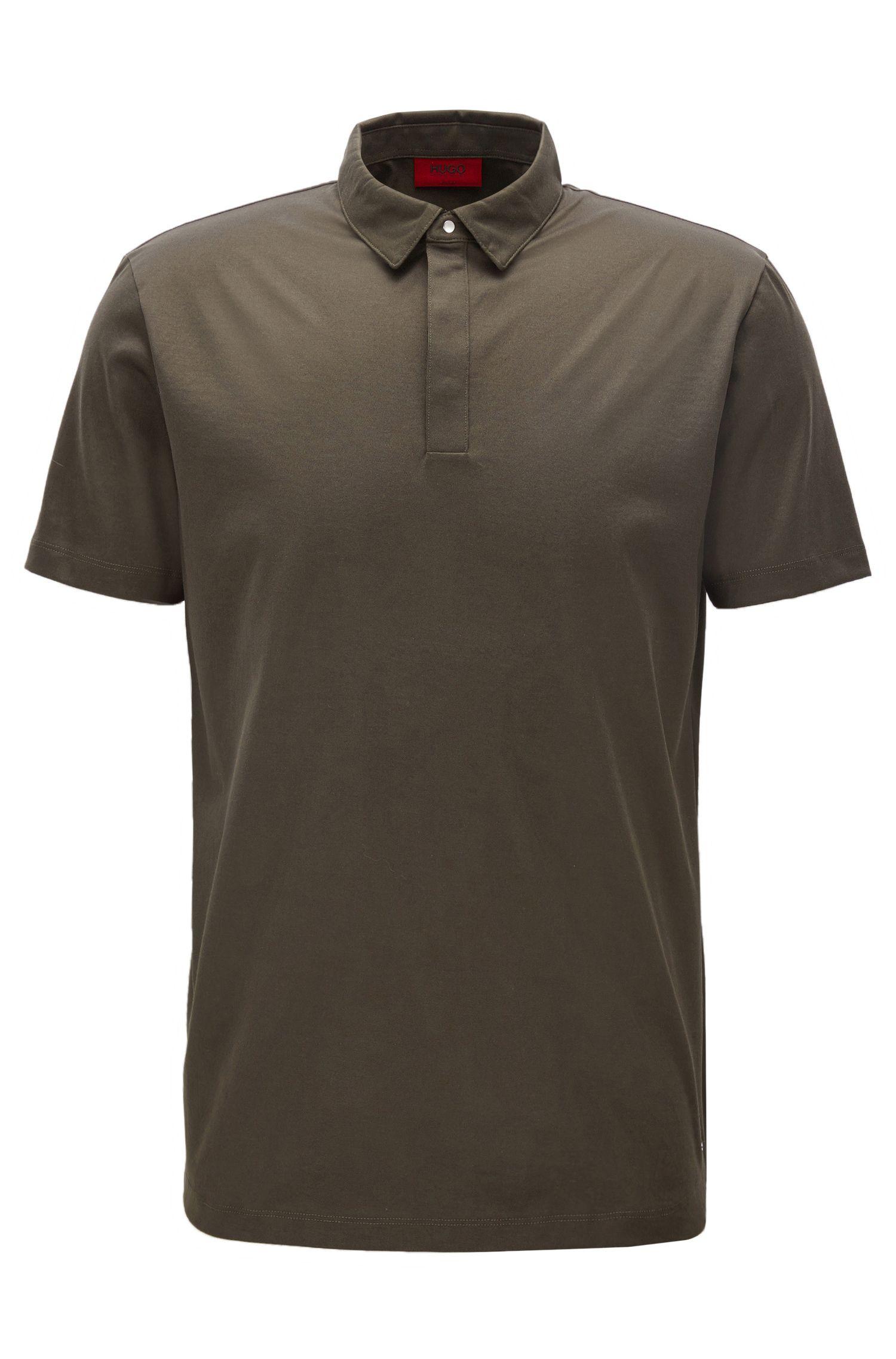 Cotton Polo Shirt, Slim Fit | Diffords