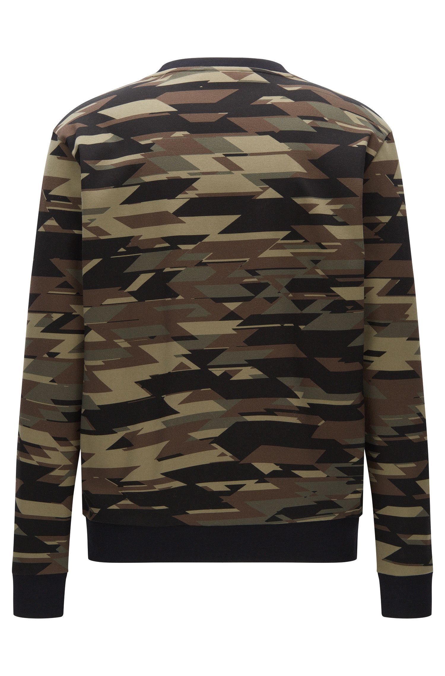 Camouflage Cotton Sweatershirt | Driggs