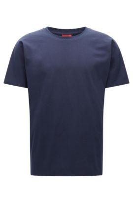 French Terry T-Shirt | Deily, Dark Blue