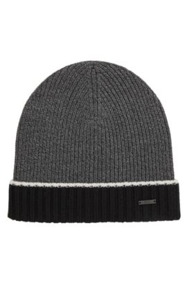 'Frisk' | Virgin Wool Beanie, Black