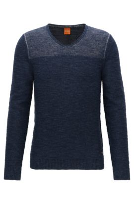 Cotton Sweater | Arbramus, Dark Blue