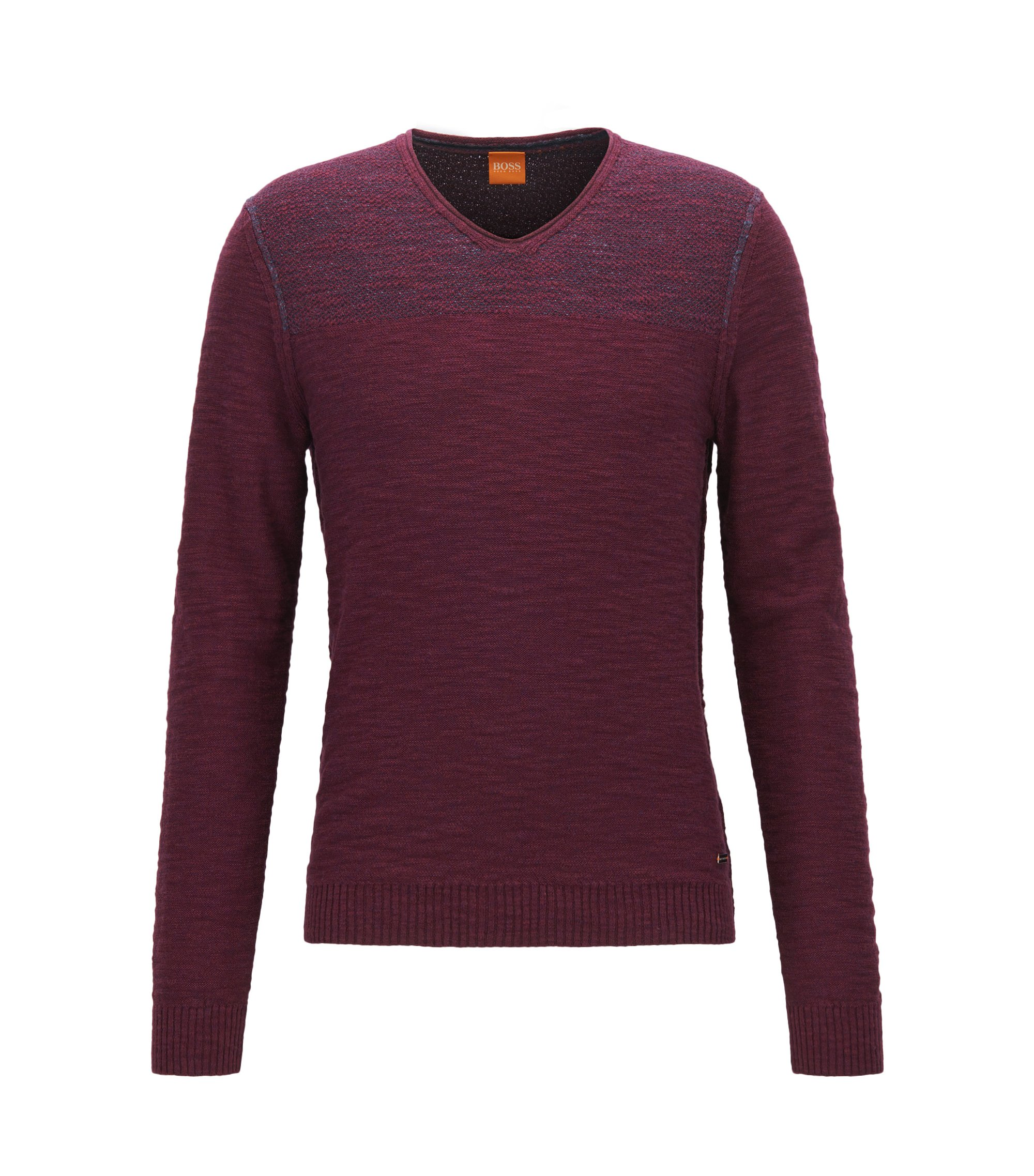 Cotton Sweater | Arbramus, Open Red