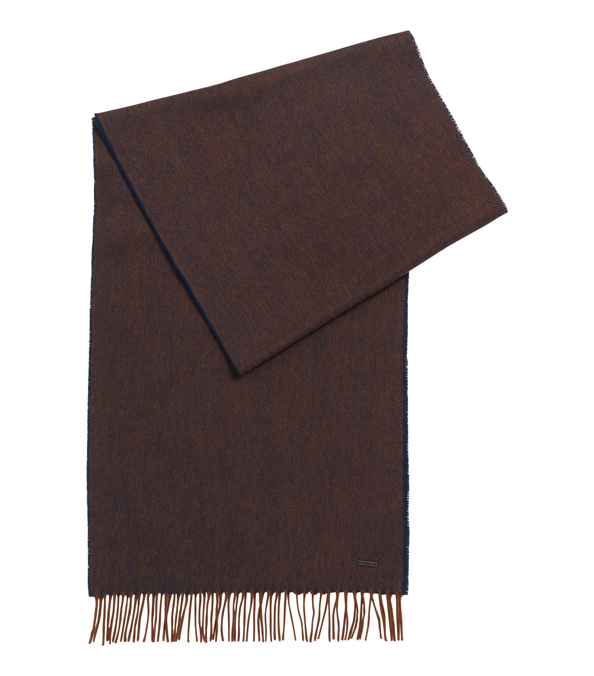 Wool Scarf | Heroso, Brown