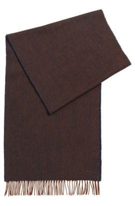 'Heroso' | Wool Scarf, Brown