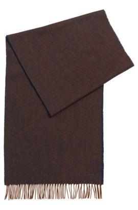 'Heroso' | Wool Scarf, Brown