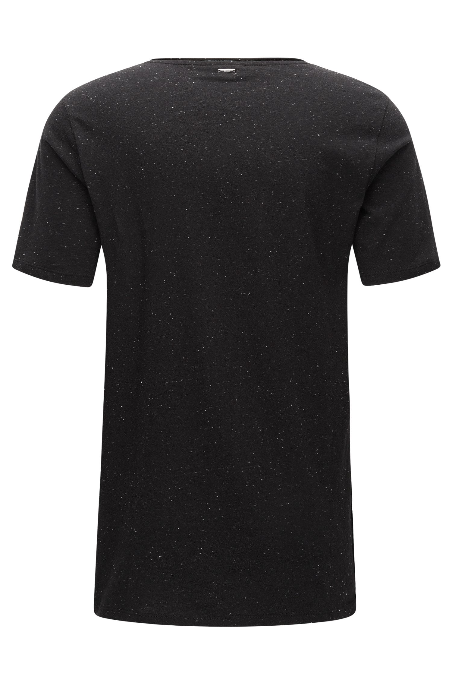 Stretch Cotton T-Shirt | Donely