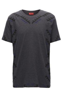 Graphic T-Shirt   Dethno, Charcoal