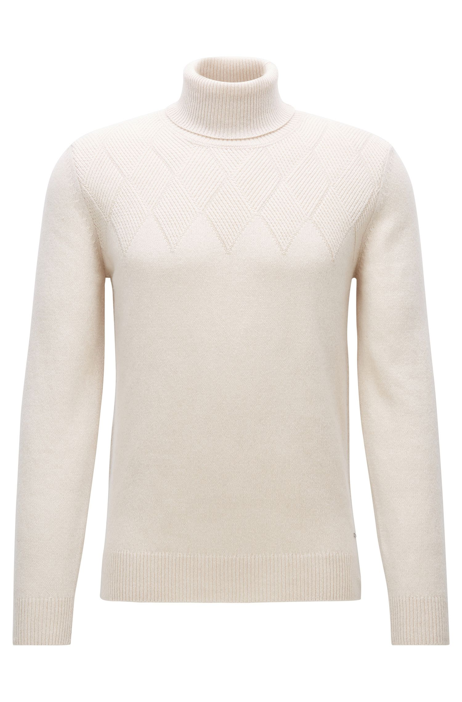 'T-Nuvolino' | Cashmere-Wool Turtleneck Sweater