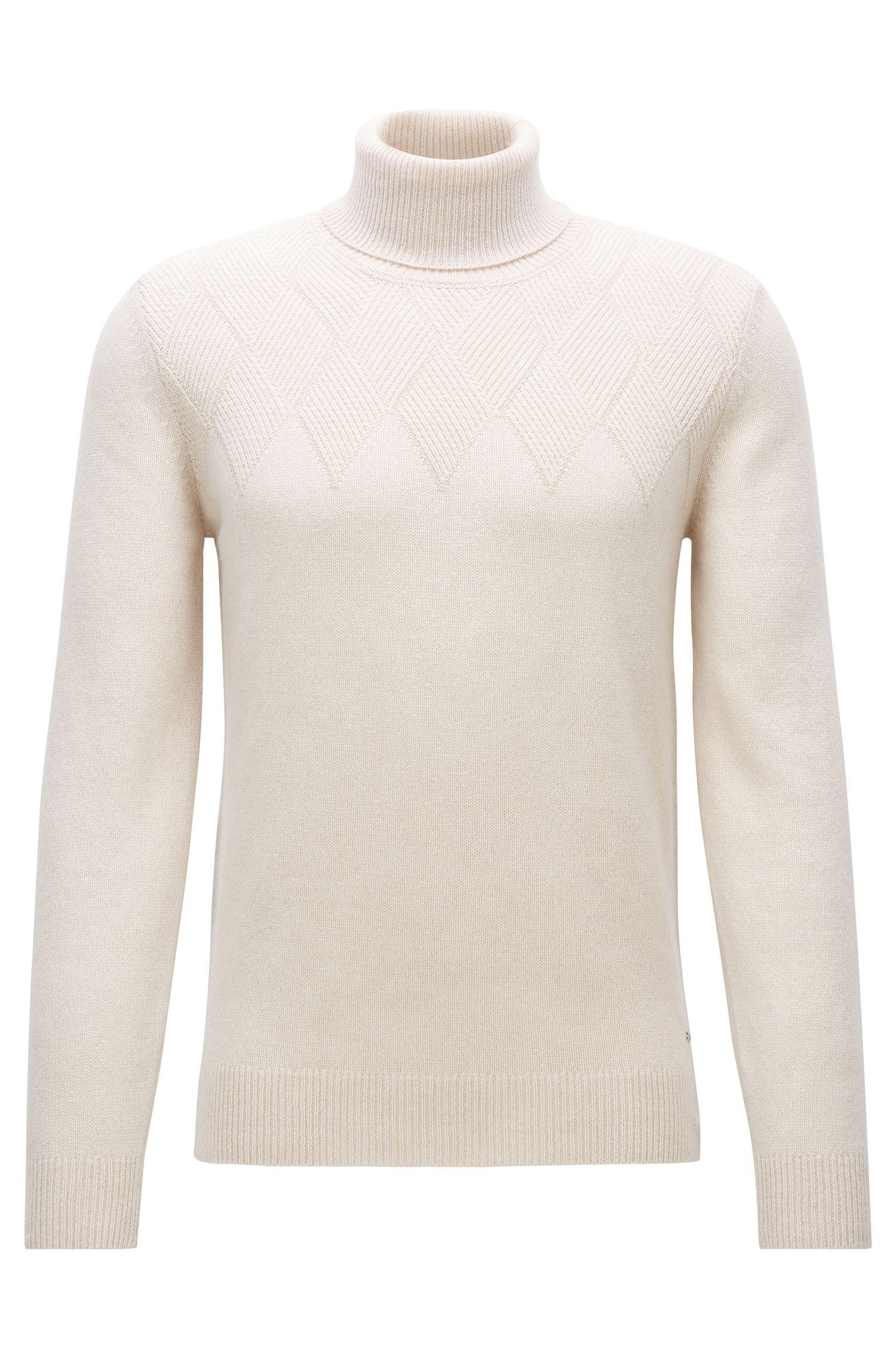 'T-Nuvolino' | Cashmere-Wool Turtleneck Sweater