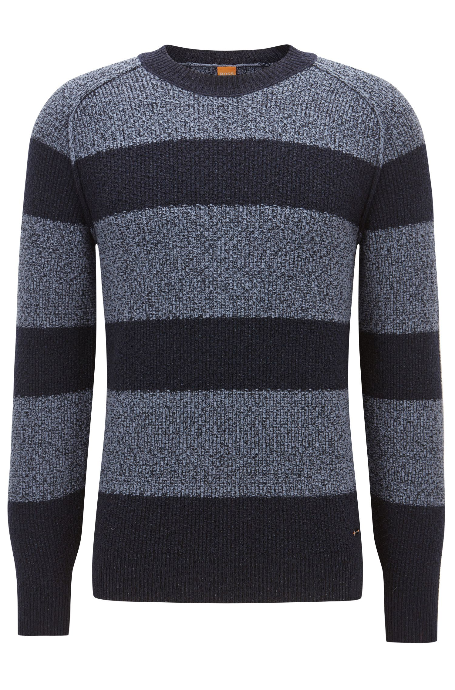 'Arbieri' | Striped Cotton-Wool Blend Sweater