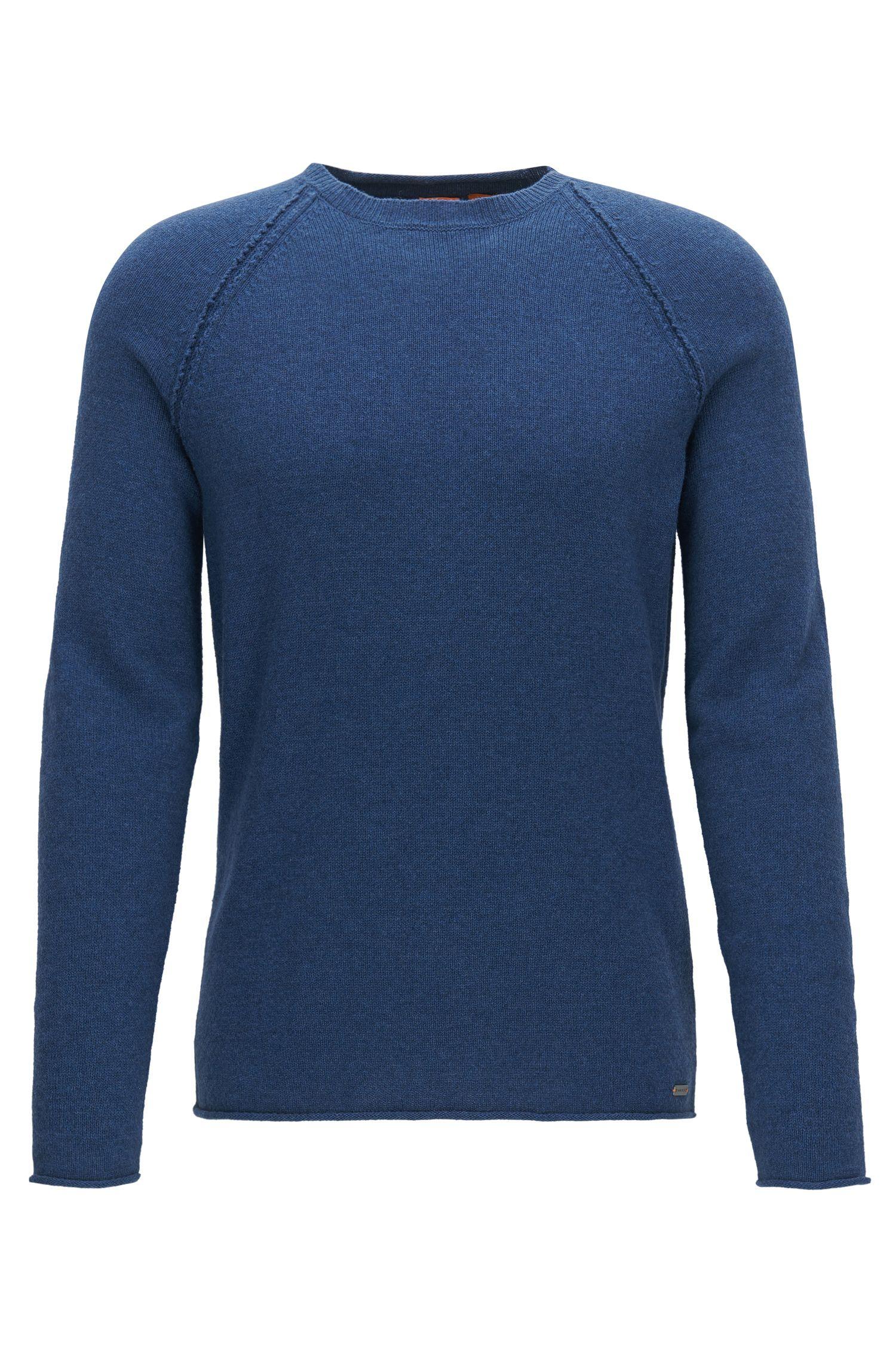 Wool-Cotton Blend Sweater | Kohedge