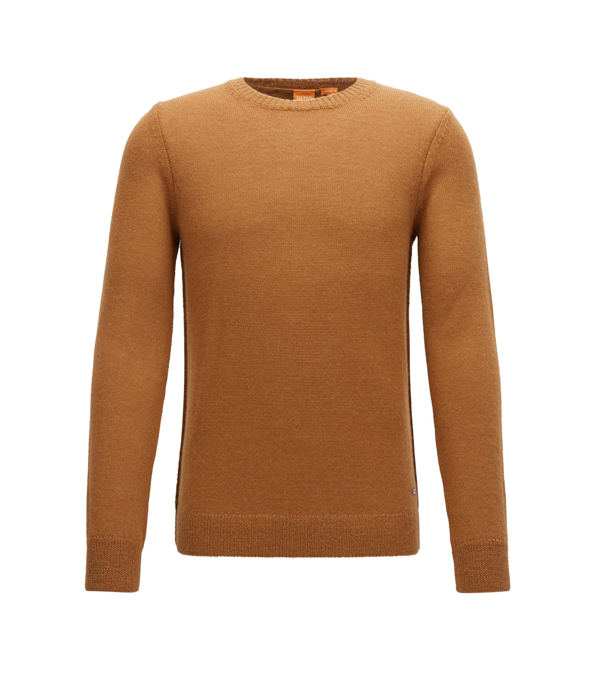 Italian Alpaca Wool Sweater | Kalpak, Beige