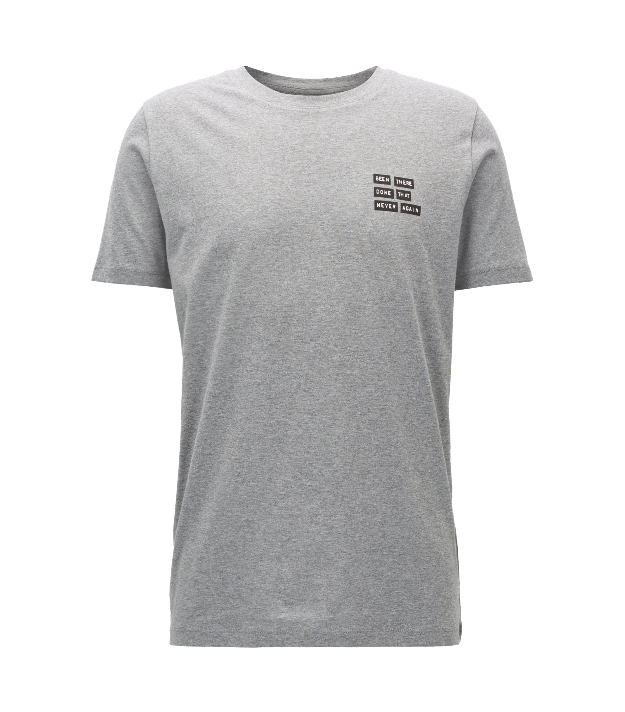 Cotton Graphic T-Shirt | Dords, Open Grey