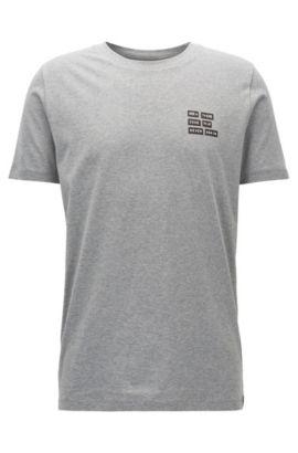 Cotton Graphic T-Shirt | Dords, Open Grey