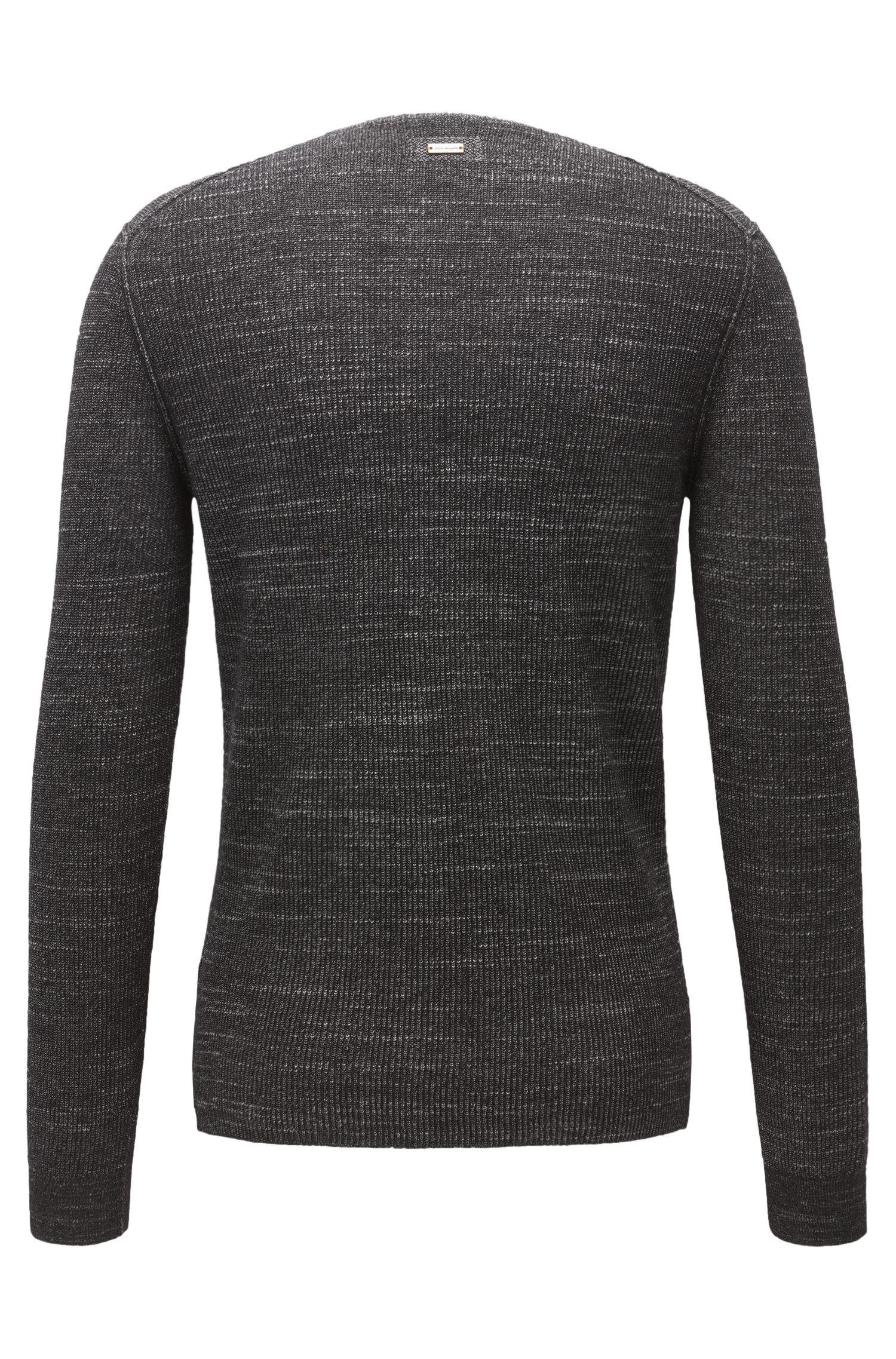 Cotton Blend Sweater | Kutask, Black