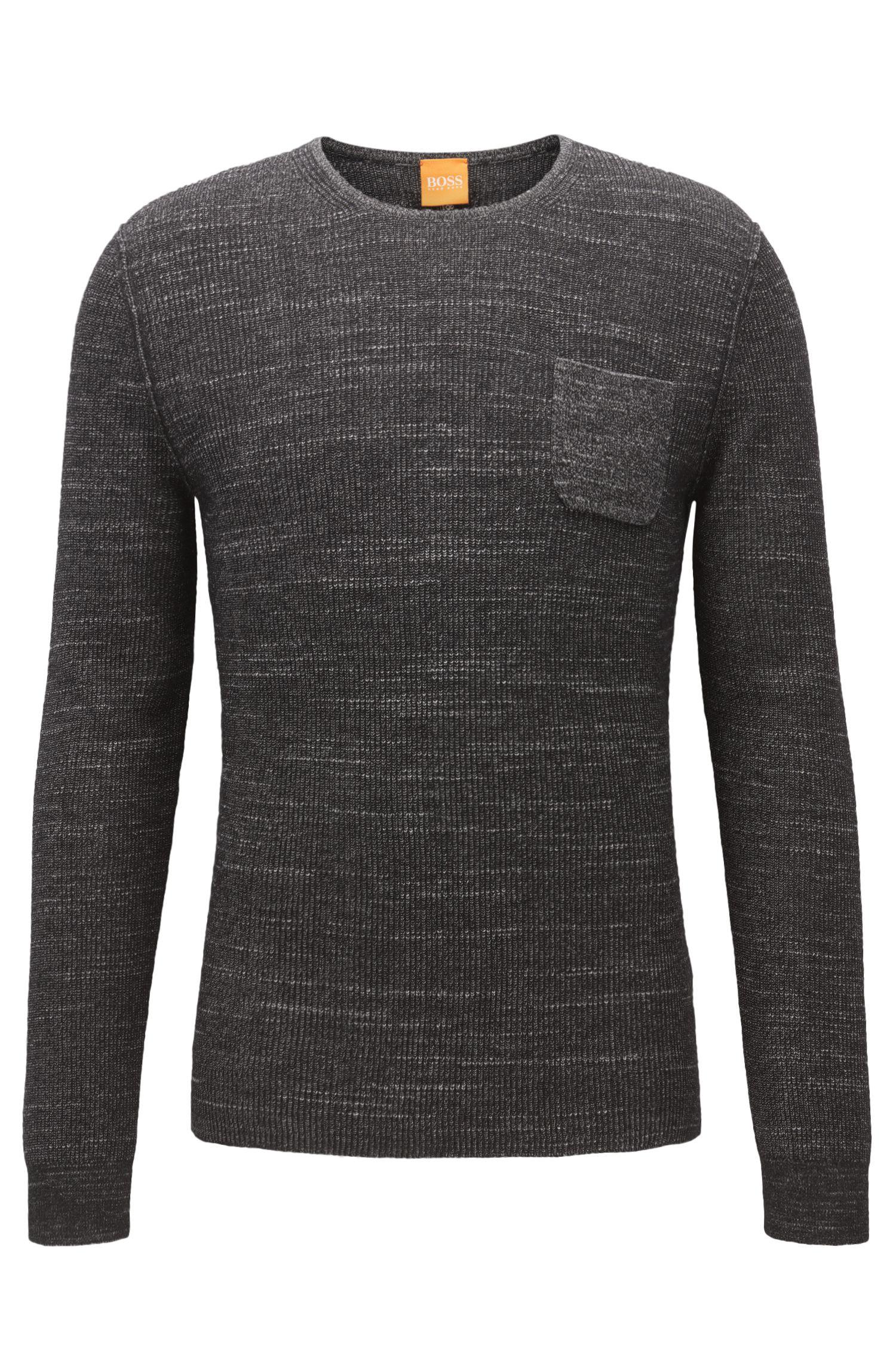 Cotton Blend Sweater | Kutask