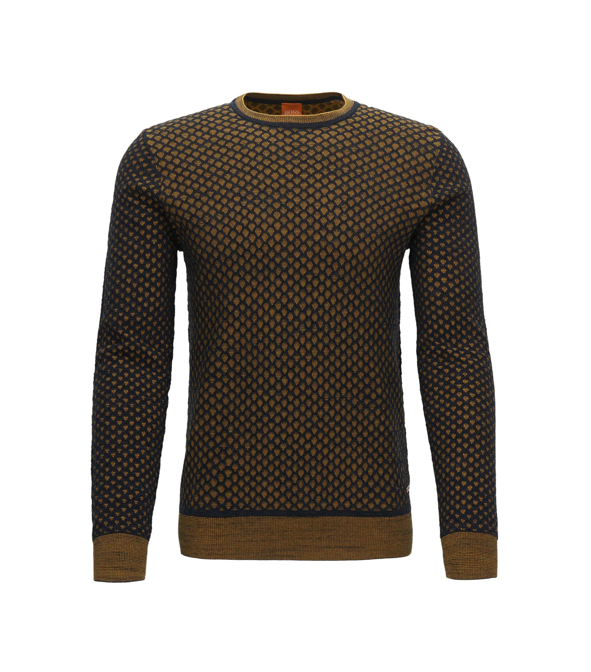 Dobby Cotton Sweater | Kewarco, Yellow