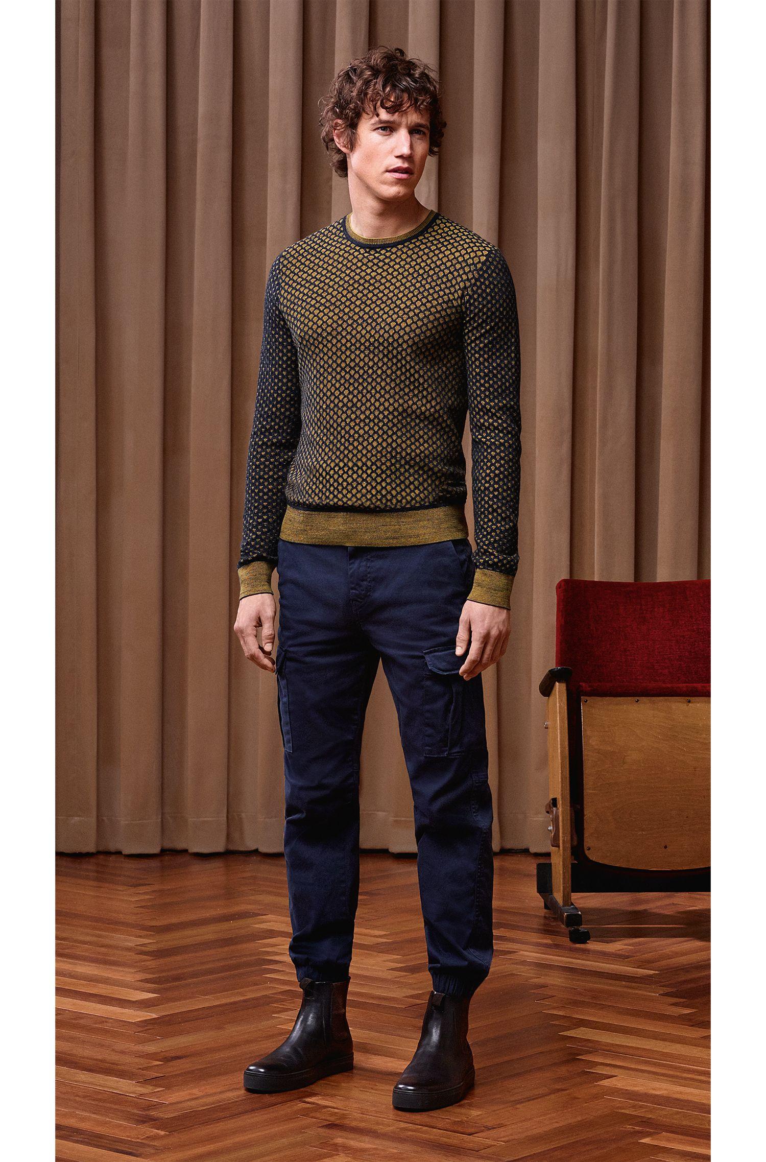 Dobby Cotton Sweater   Kewarco