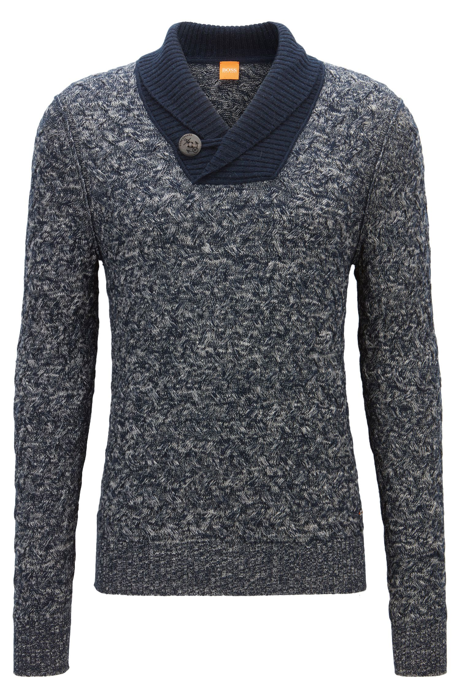 Cotton Blend Sweater | Kradunc