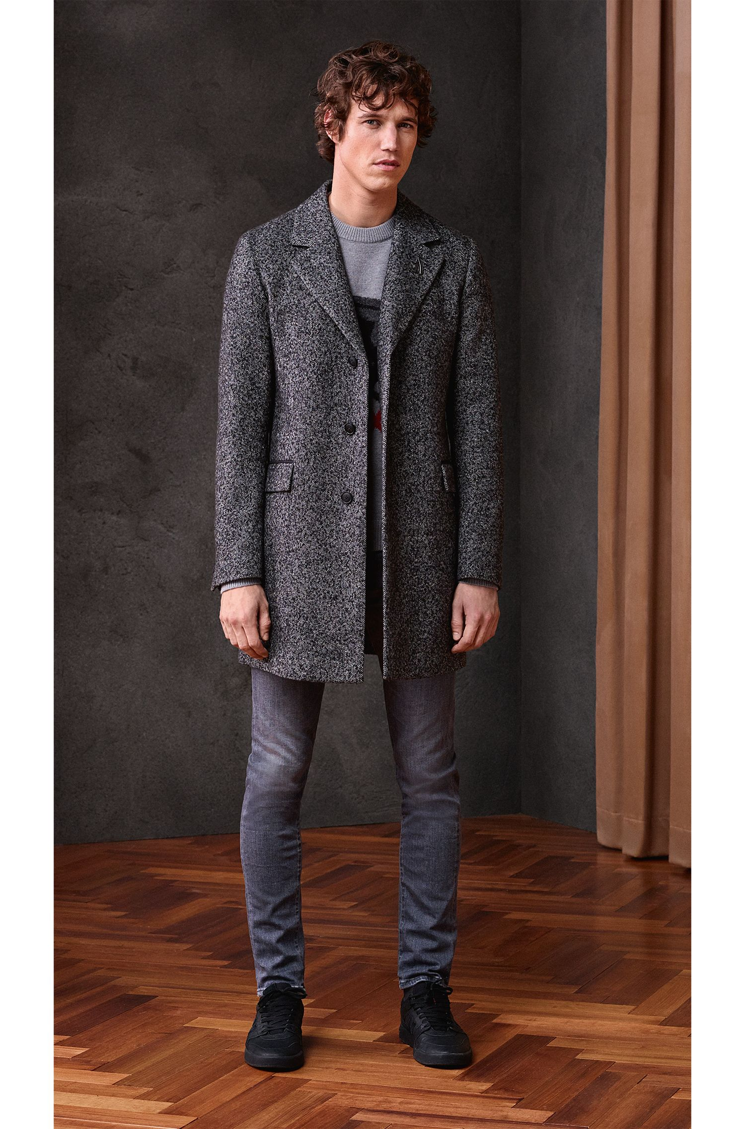'Kintars' | Unicorn Virgin Wool-Alpaca Blend Intarsia Sweater