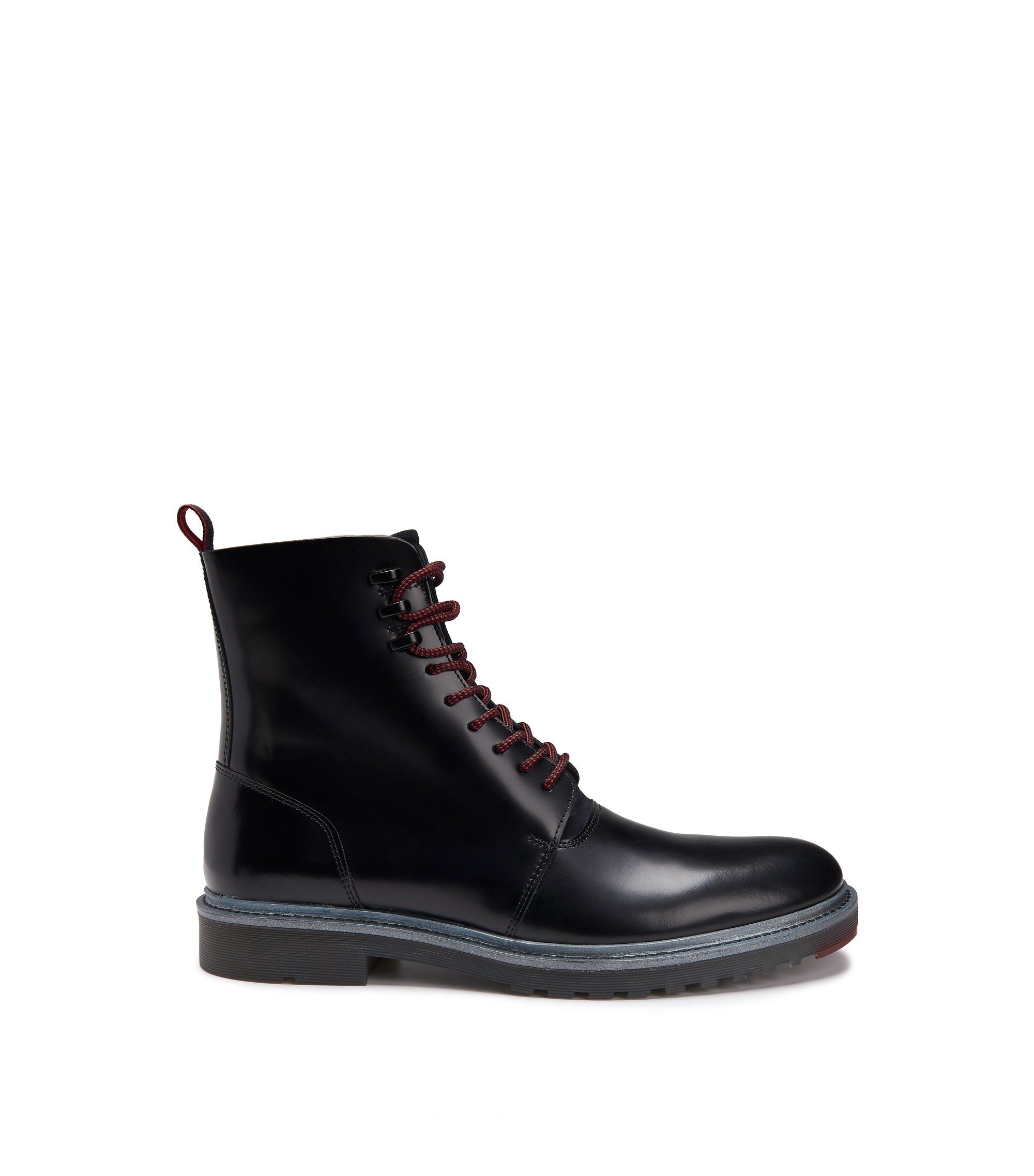 Leather Boot | Pure Halb Bonp, Black