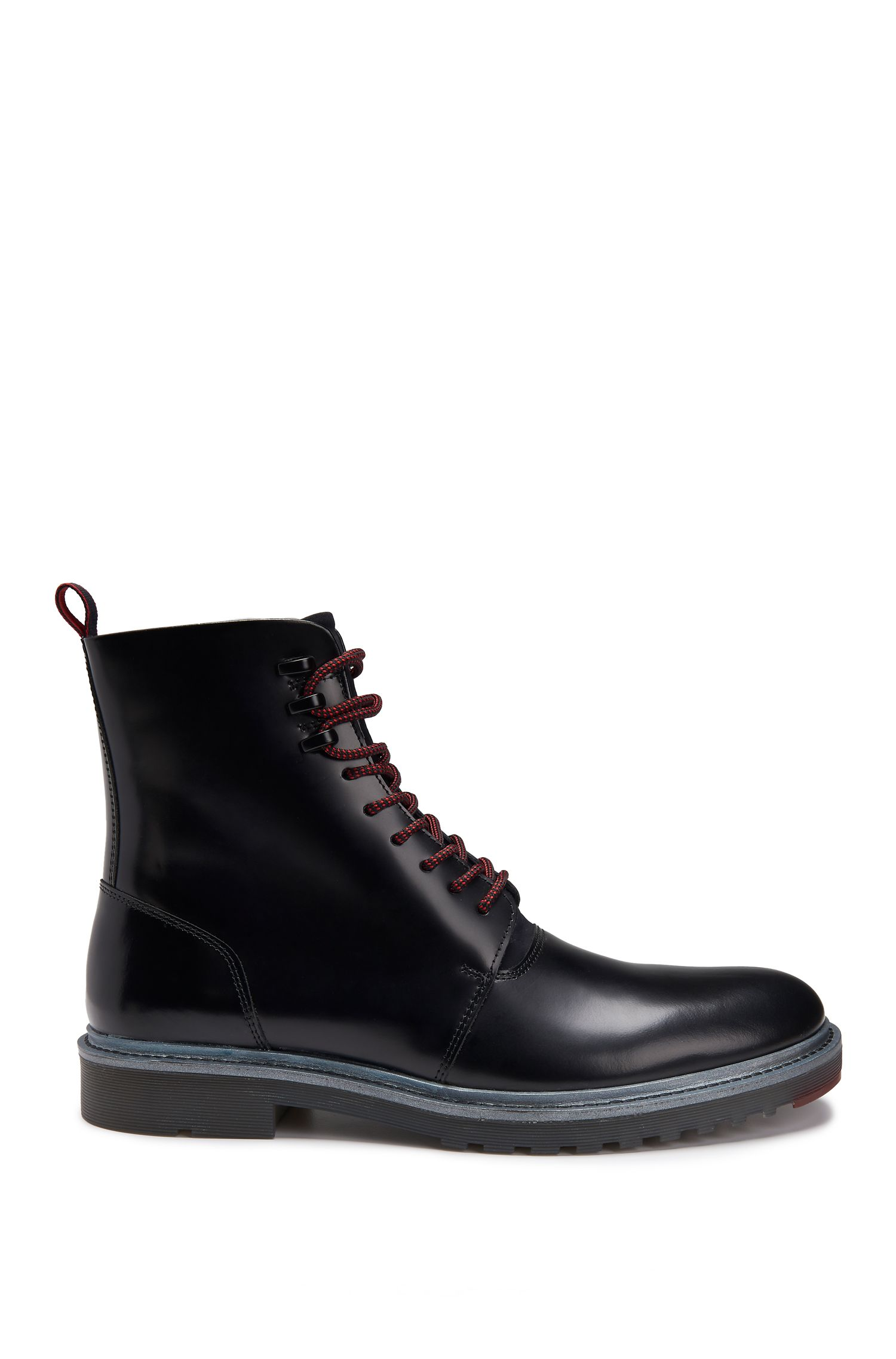 Leather Boot | Pure Halb Bonp, Black
