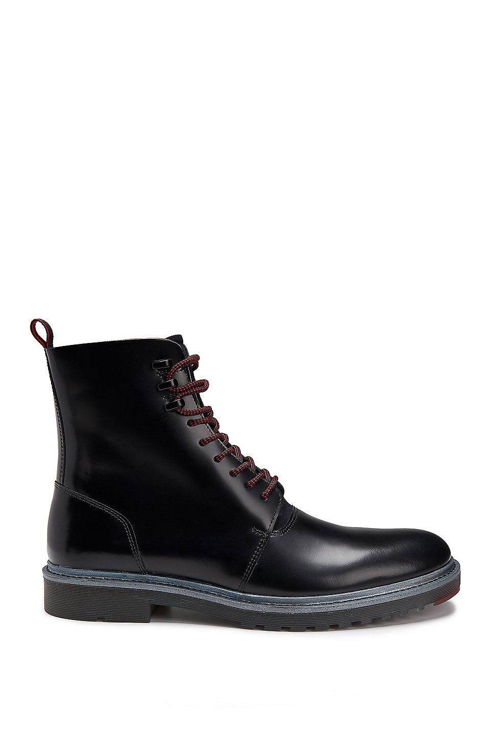 HUGO BOSS Leather Boots iWwsguhz