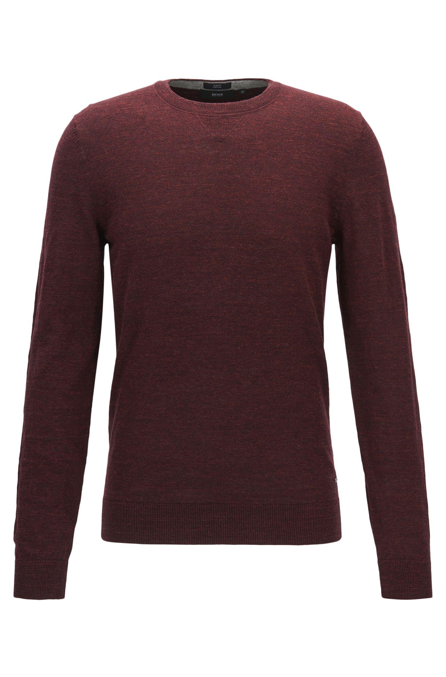 Slub Cotton Sweater | Nelino