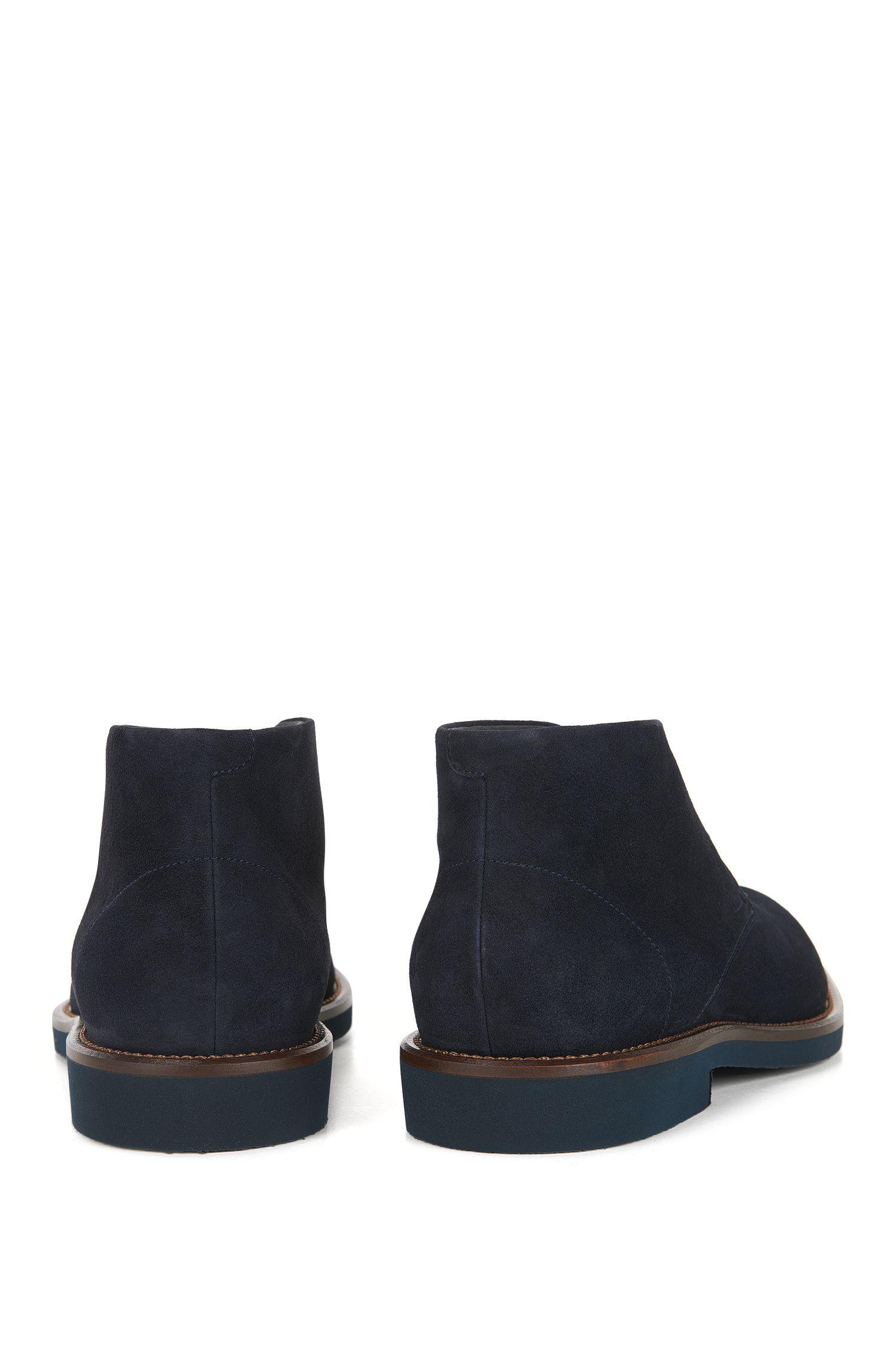 Italian Suede Desert Boot | Eden Desb Sdg, Dark Blue