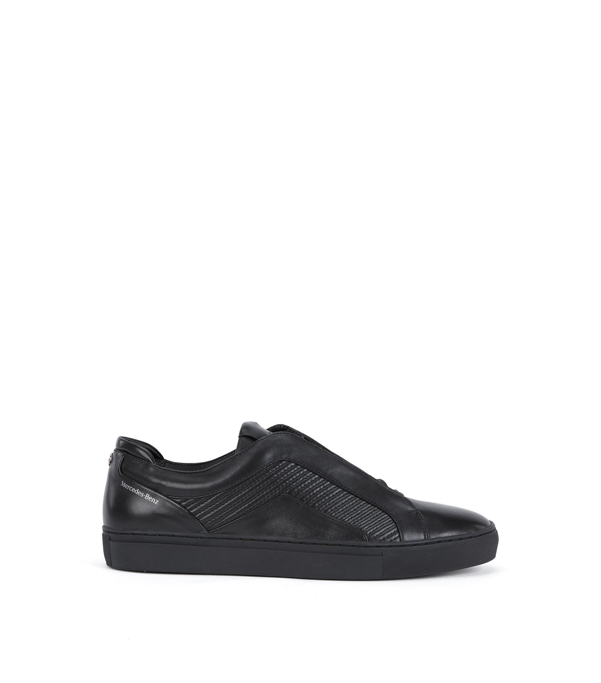 Mercedes-Benz Leather Sneaker | Timeless Tenn Mtmb, Black