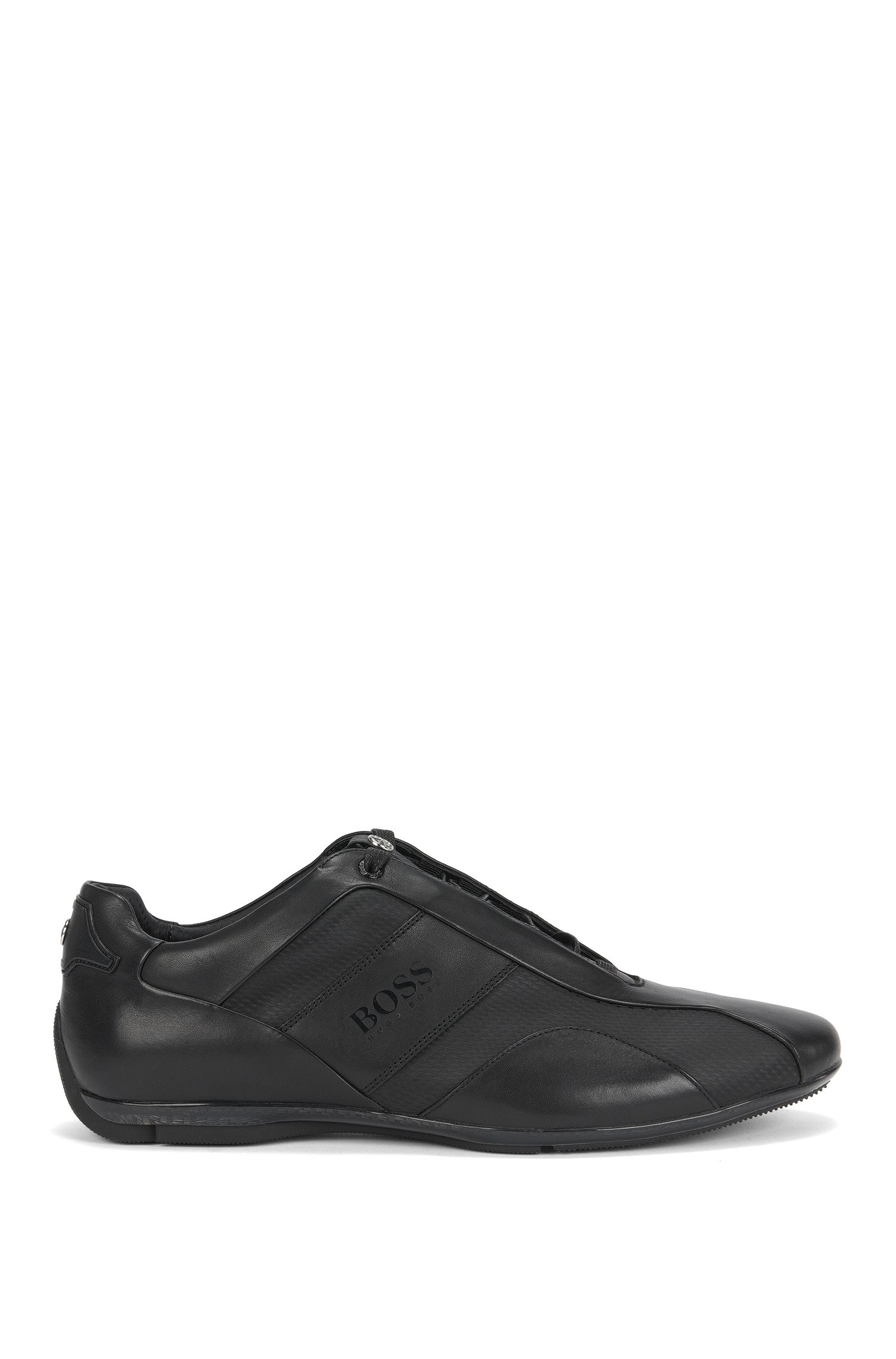 Mercedes-Benz Leather Sneaker | Sporty Lowp Mcmb