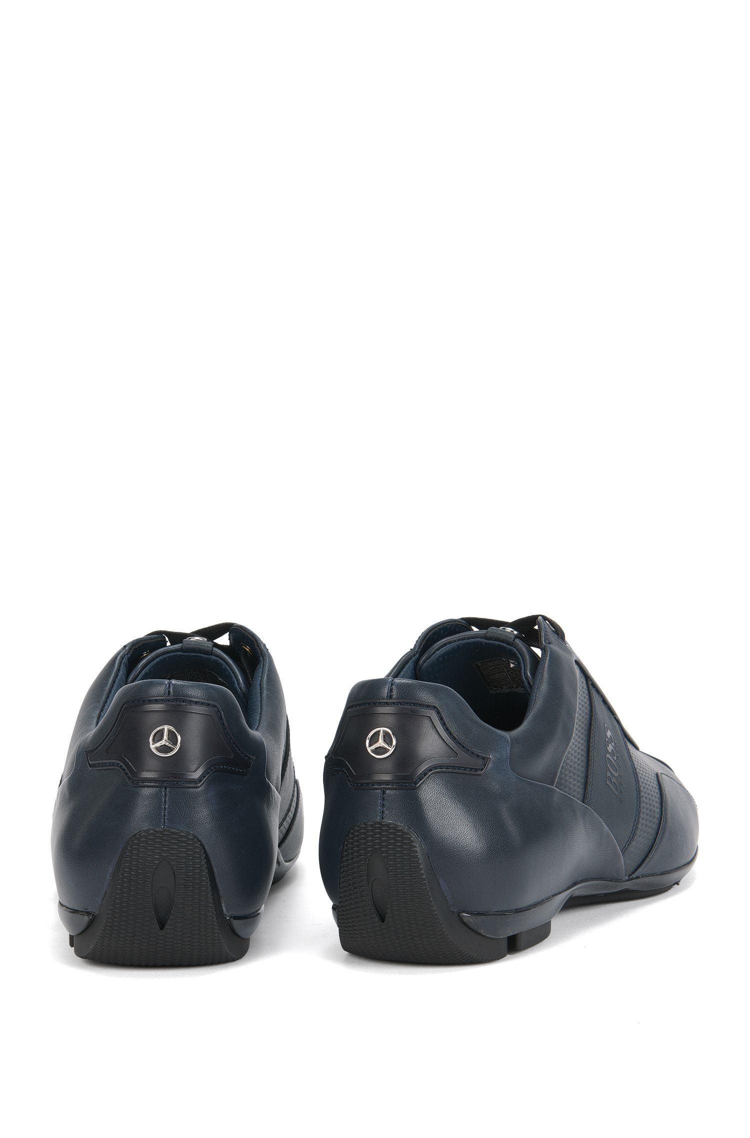 Mercedes-Benz Leather Sneaker   Sporty Lowp Mcmb
