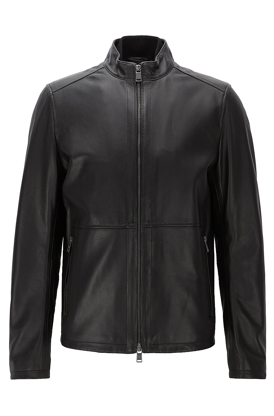 Boss Nappa Leather Jacket Nabino