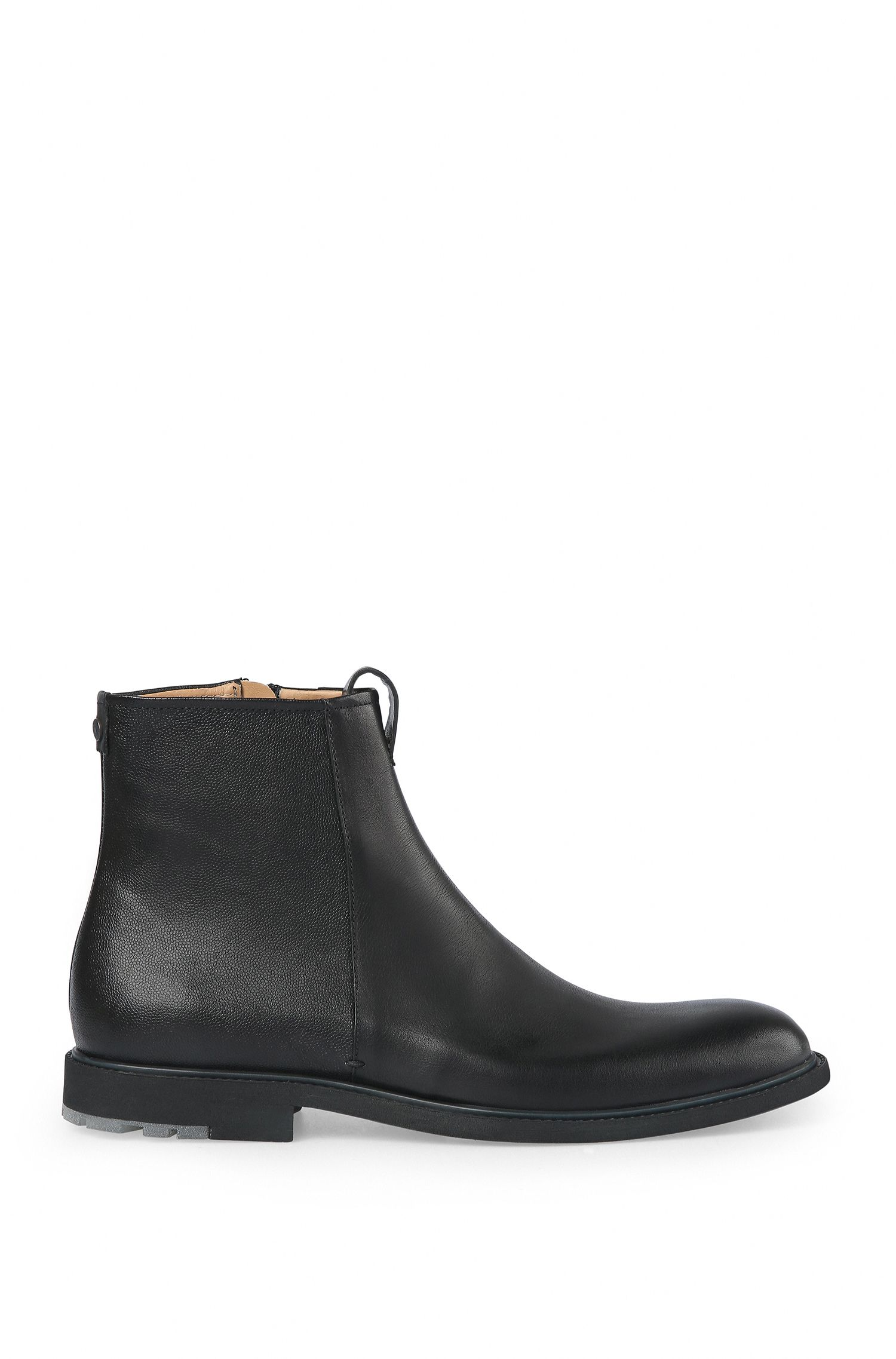 Leather Ankle Boot | Cultroot Zipb Itwsgr
