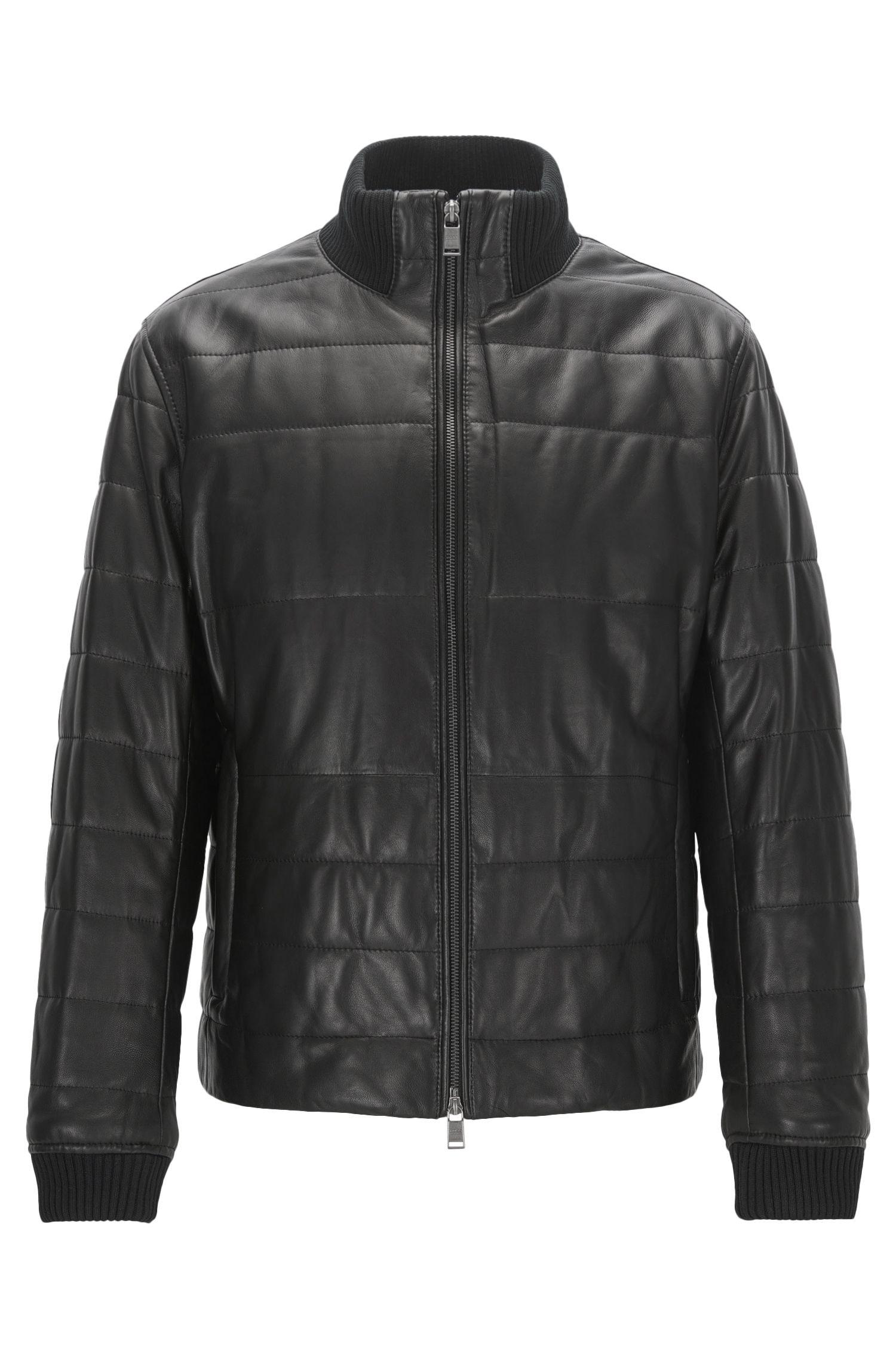Lambskin Quilted Jacket | Neffo