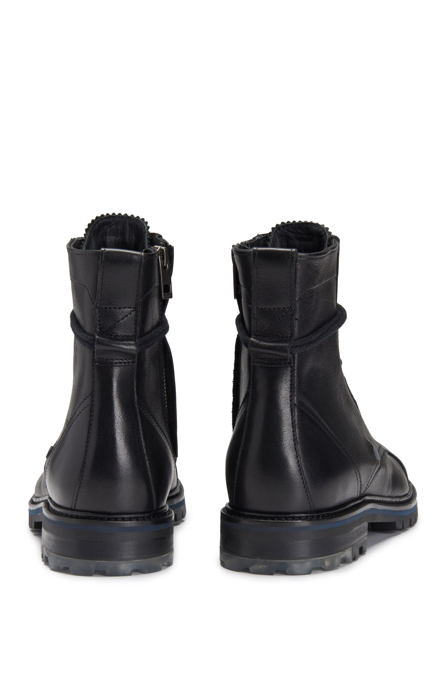 Leather Boot | Hero Boot Itws, Black
