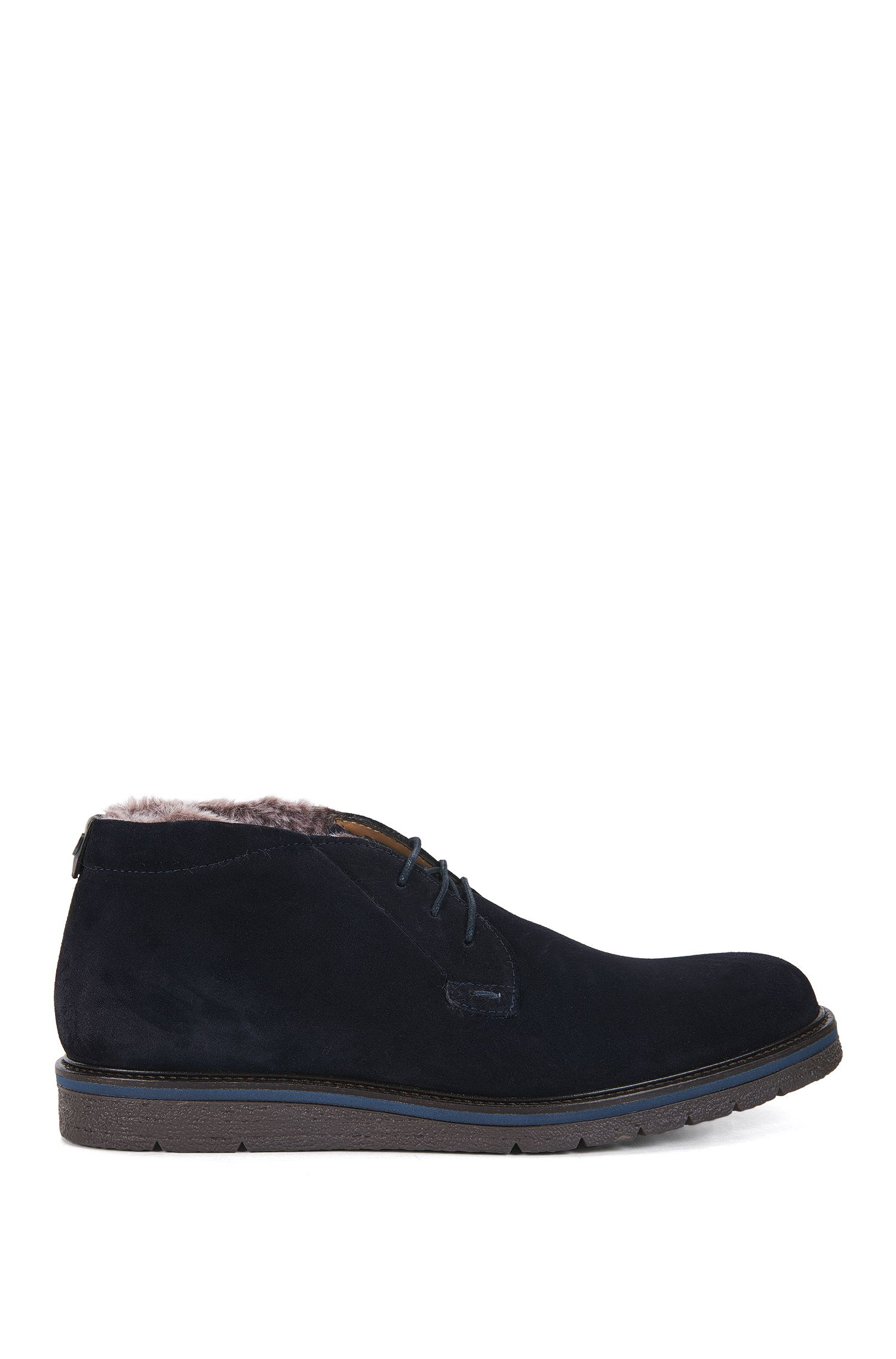 Fur-Lined Suede Desert Boot | Tuned Desb Sdfur