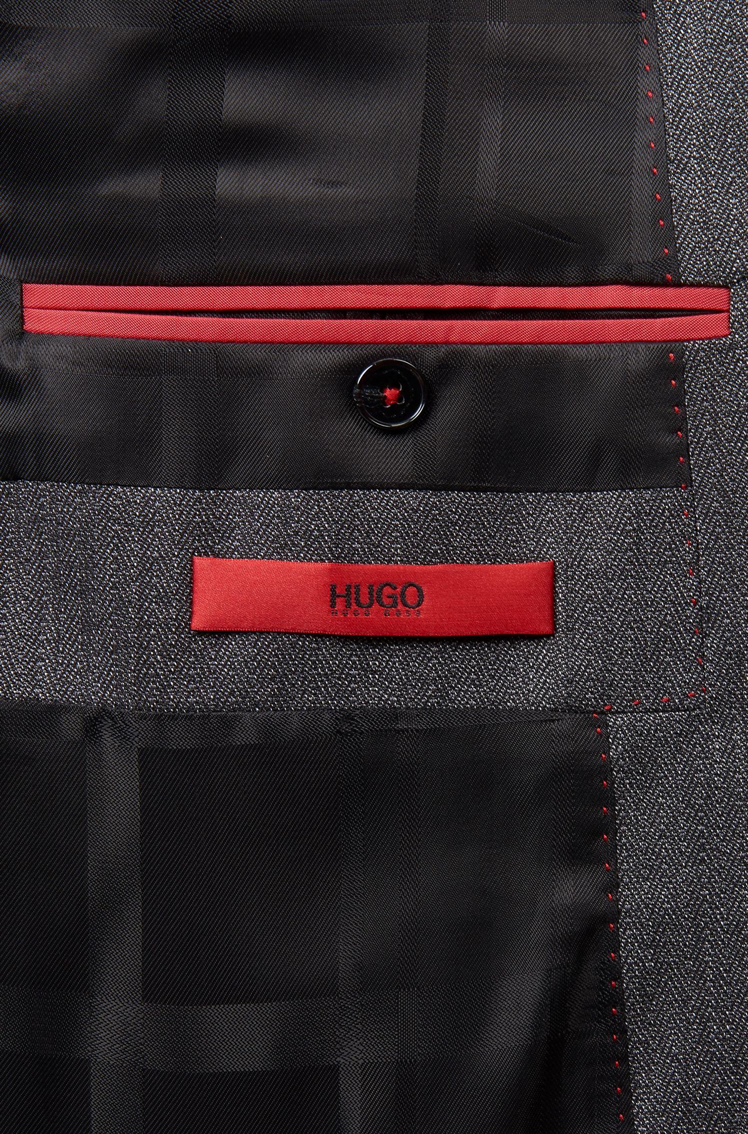 Herringbone Virgin Wool 3-Piece Suit, Extra Slim Fit | Arnin/Wilardo/Hermin