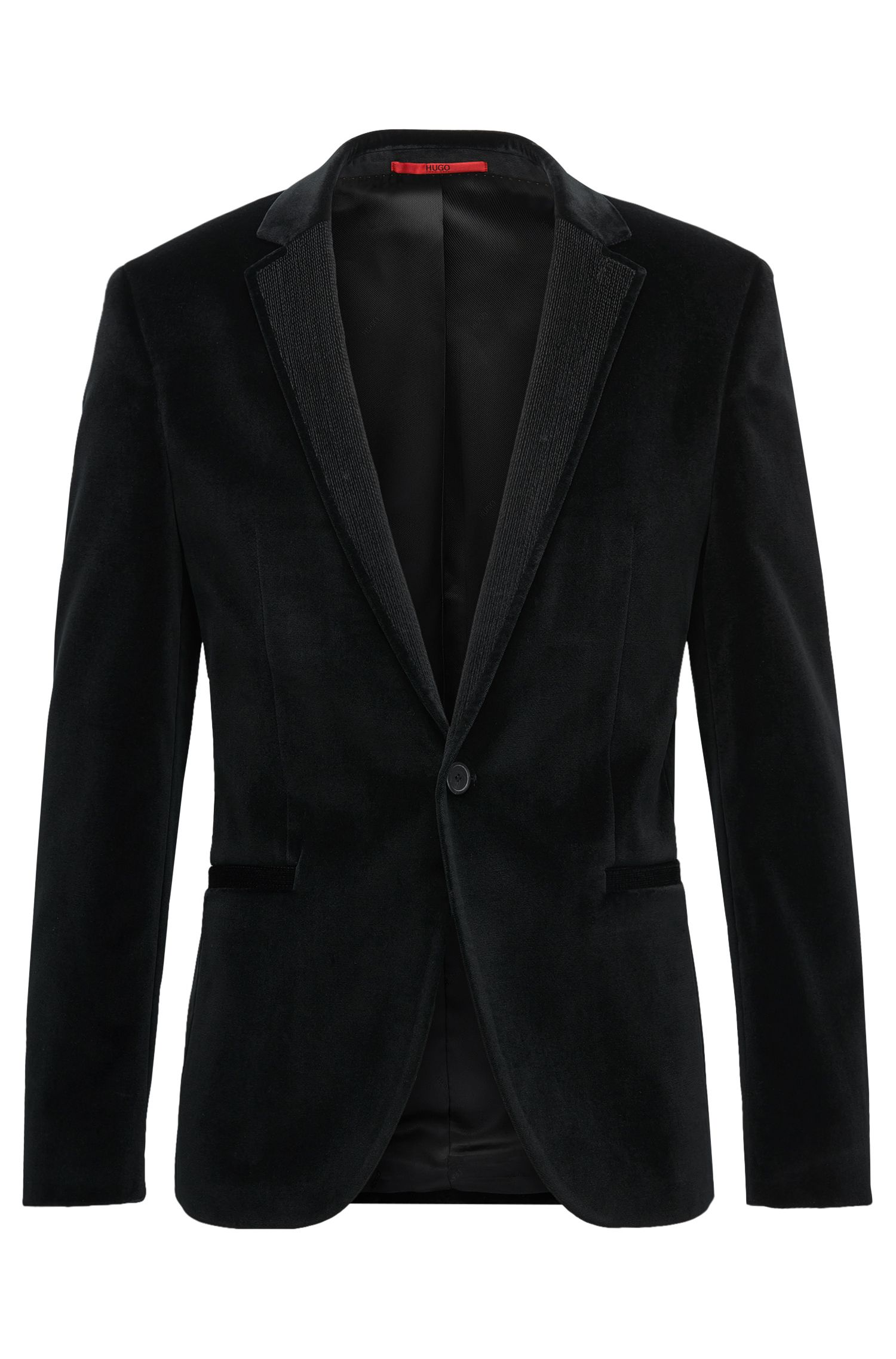 Velvet Sport Coat, Extra Slim Fit | Alwaro