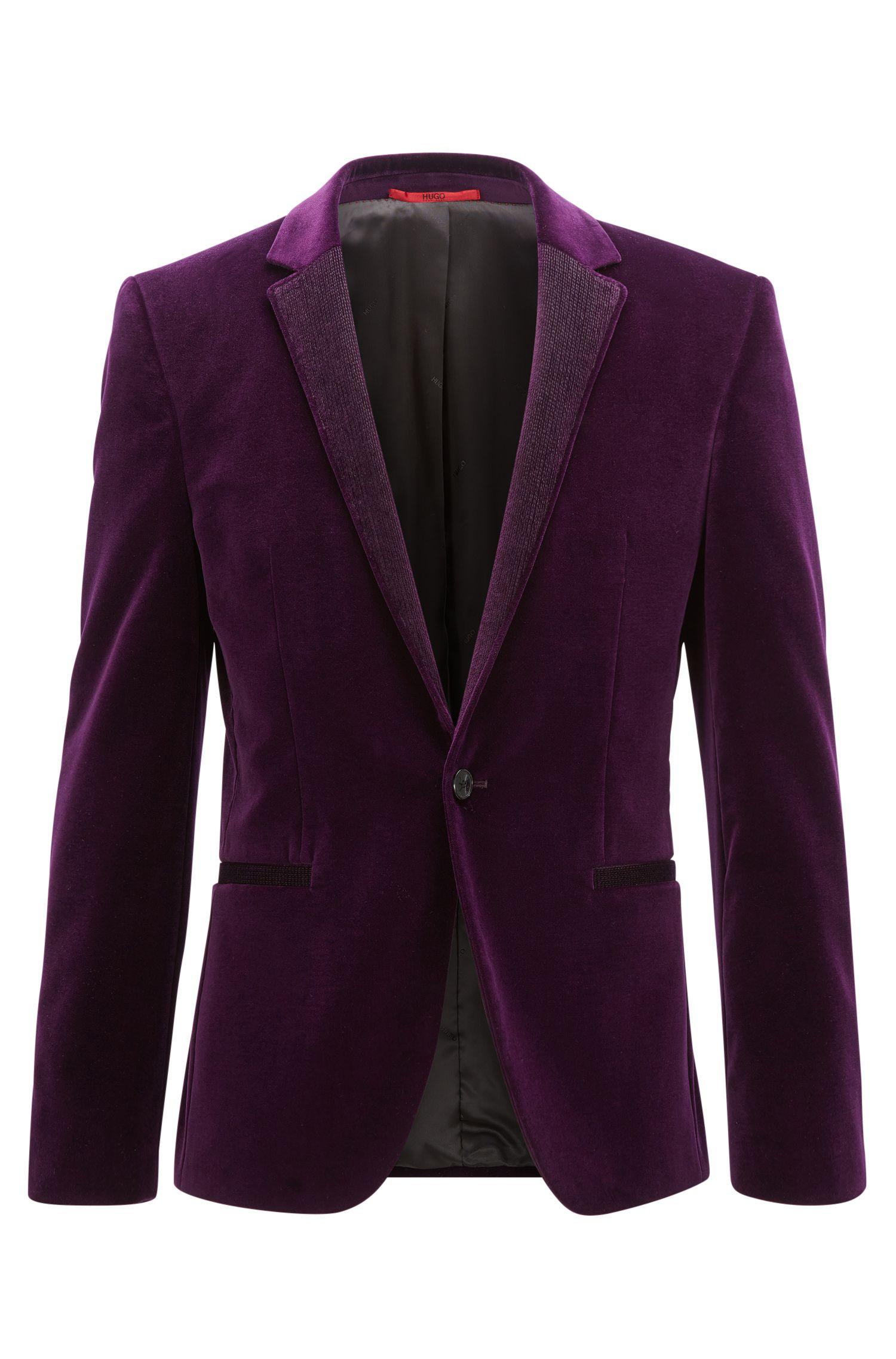 Velvet Sport Coat, Extra Slim Fit | Alwaro