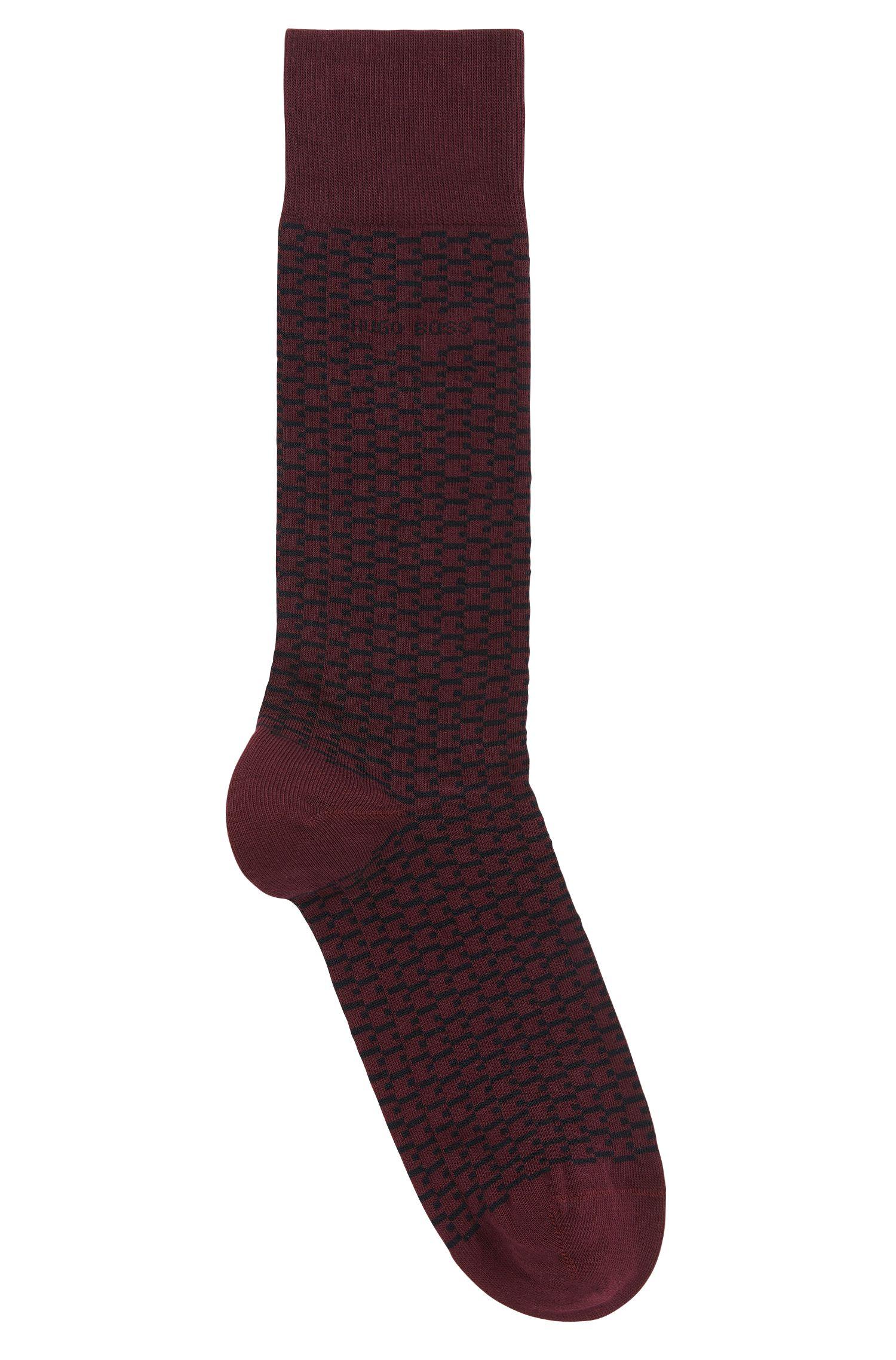 Stretch Cotton Blend Sock | RS MiniPattern US CC