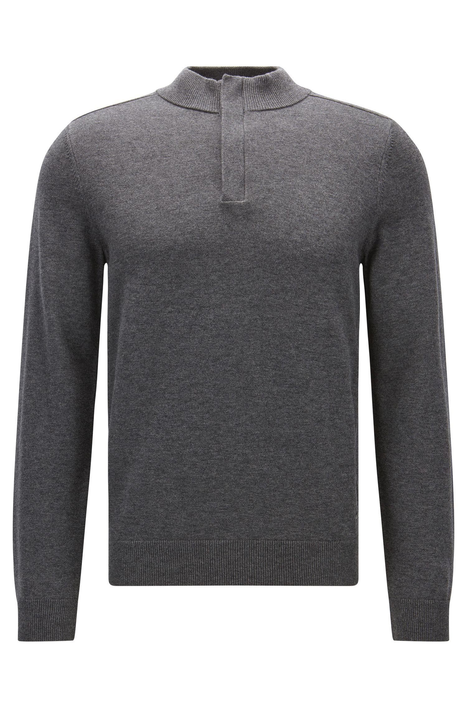 Cotton Virgin Wool Sweater   Napoleone