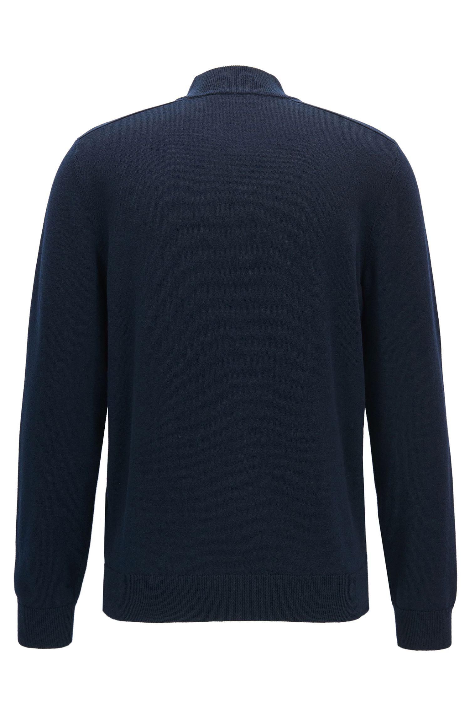 Cotton Virgin Wool Sweater | Napoleone