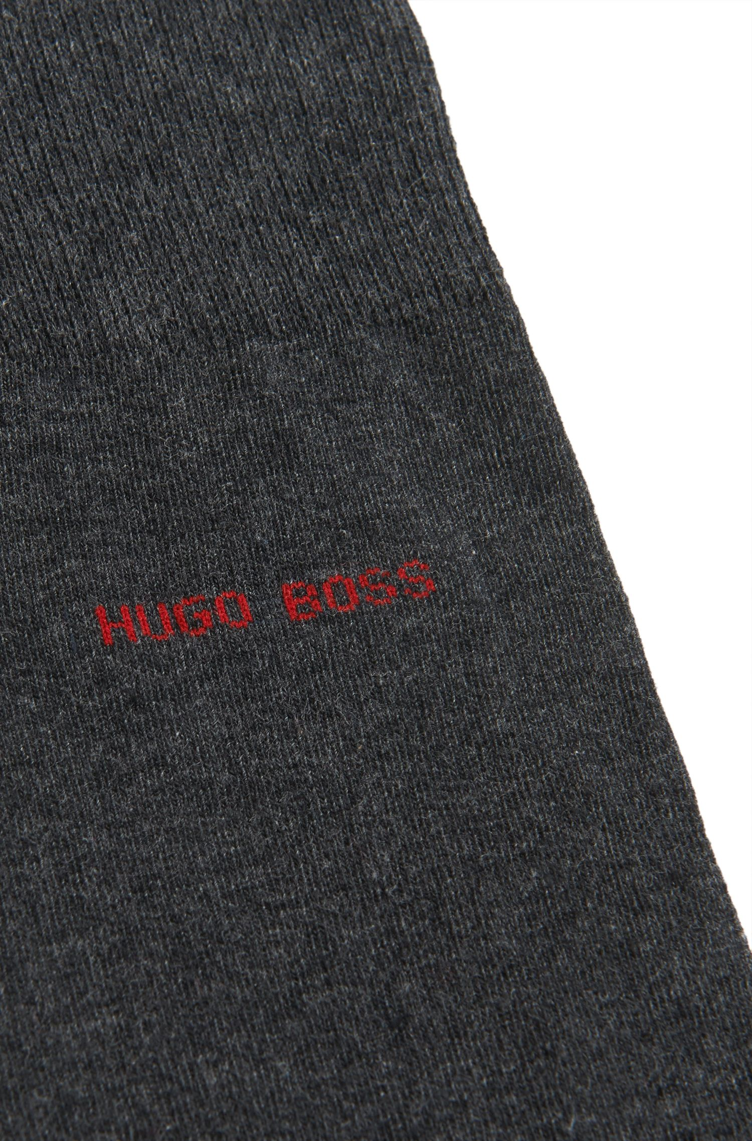 Contrast Socks  Marc RS Heel & Toe US, Charcoal